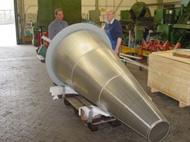 Conical Basket for Gas Compressor Station