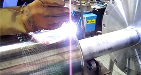 Welding Screens in Hastalloy